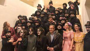 Jesús Carrascosa asiste a la ópera de G. Rossini 'La Generentola' en el Teatro Auditorio de Cuenca
