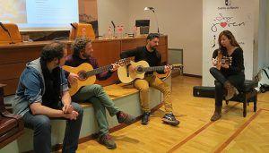 La Biblioteca pública de Guadalajara participa en el 'Certamen de Micros Abiertos' dentro del III Encuentro de Canción de Autor