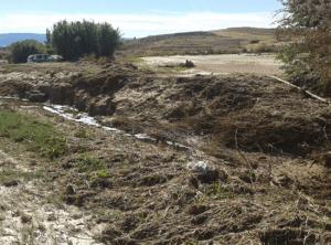 La Confederación Hidrográfica del Tajo invertirá 200.000 euros en varios municipios de Guadalajara afectados por las tormentas del pasado otoño