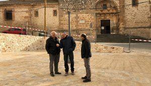 La Diputación de Guadalajara finaliza las obras de remodelación de la Plaza Gutiérrez de Luna de Jadraque