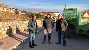 La Diputación mejora las redes de agua y las calles de Horche, Sacedón, Auñón, Alhóndiga y Peñalver