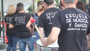 La Escuela Municipal de Música de Cabanillas organiza para mayo un taller de percusión, destinado a docentes