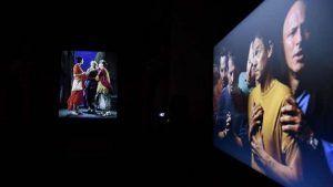 La exposición 'Vía Mística', del artista neoyorquino Bill Viola, superó los 55.000 visitantes este fin de semana