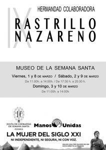 La Junta de Cofradías de Semana Santa y Manos Unidas organizan la novena edición del Rastrillo Nazareno