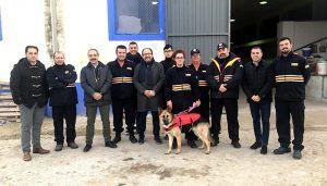 La Junta dota de nuevo material de emergencias a la Agrupación de Protección Civil de Horcajo de Santiago