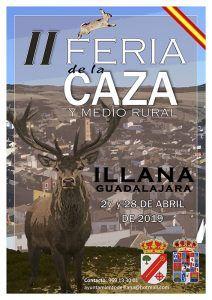 La segunda Feria de la Caza de Illana se celebrará los días 27 y 28 de abril