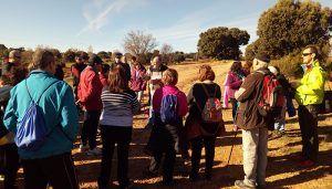 La XI Marcha Cuencleta. Naturaleza y Patrimonio lleva a unas 60 personas hasta Cólliga