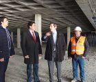 Las obras del aparcamiento de Astrana Marín cumplen con los plazos previstos para finalizar el 10 de junio