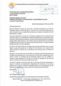 Los municipios ribereños de Entrepeñas y Buendía, ignorados y relegados por el ministerio de Transición Ecológica y su Dirección General del Agua