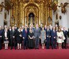 Los Reyes de España entregan la Medalla de Oro al Mérito a las Bellas Artes 2017 a José Luis Perales