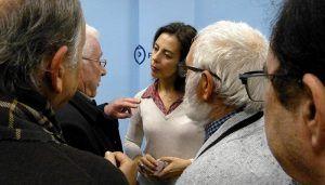"""Luz Moya afirma que se dejará """"hasta el último átomo de energía"""" para convertirse en la primera alcaldesa de Cuenca"""