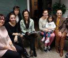 Luz Moya se compromete a que las organizaciones tengan instalaciones adecuadas para su labor social