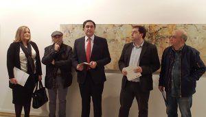 Mariscal inaugura la exposición 'Miniaturas' de Miguel Ángel Moset en el Centro Cultural Aguirre