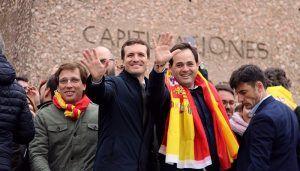 """Núñez """"Basta ya de cesiones, de chantajes y de jugar con la unidad de España. Reclamamos elecciones ya"""""""