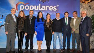"""Núñez """"El pasado del PP en la ciudad de Toledo es un pasado de éxito, de buenos alcaldes y de buenos concejales"""""""