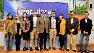 Núñez presenta a Jaime Celada como candidato a la alcaldía de Cabanillas del Campo