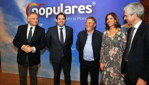 Núñez reconoce el compromiso de los concejales y alcaldes del PP de Ciudad Real para mejorar la vida de sus vecinos, como hará Cañizares cuando gobierne