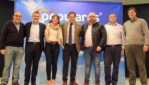 Núñez señala que Juan Carlos Martín es el alcalde que necesita Alovera por su experiencia de gestión, eficacia y capacidad de trabajo