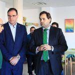 Núñez visita la Residencia San Francisco de Asis y el Centro Residencial Convivir en Horcajo de Santiago