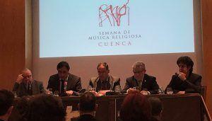 Presentada en Madrid la 58 edición de la Semana de Música Religiosa de Cuenca que tendrá lugar del 15 al 21 de abril