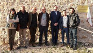 Prieto inaugura las últimas intervenciones de la Diputación de Cuenca en el yacimiento romano de Valeria