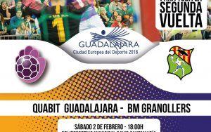 Quabit BM Guadalajara, obligado a competir ante uno de los grandes