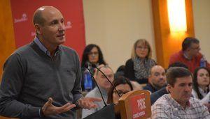 """Sahuquillo advierte que la alternativa al PSOE en C-LM es """"el PP de Cospedal junto a otros partidos que quieren recortarnos derechos"""""""