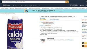 Unión de Uniones denuncia una presunta venta a pérdidas de leche a través de la plataforma de Amazon