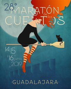 Ya hay cartel para el 28º Maratón de los Cuentos, que tendrá a las brujas como protagonistas
