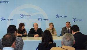 Agudo preside el Comité Provincial de Alcaldes del PP de Cuenca