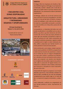 Arquitectos de cuatro regiones se citan en Brihuega para hablar de despoblación