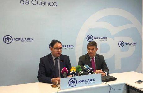 """Catalá afirma sentirse """"muy orgulloso"""" de representar a Cuenca y asegura que el PP es el único que garantiza la democracia, la igualdad y la convivencia"""