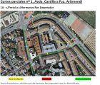 Cortes y desvíos de tráfico en Guadalajara con motivo de las obras de mejora que se están ejecutando en Santa María Micaela, Francisco Aritmendi y San Roque