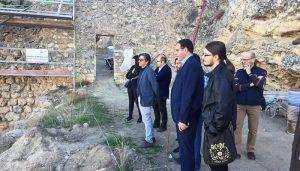 Diputación de Cuenca busca dotar a Uclés de un atractivo turístico más con la recuperación de la muralla árabe