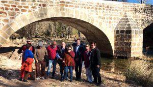 Diputación de Cuenca rehabilita el Puente de Cristinas y dota a Pajaroncillo con un atractivo más para el visitante