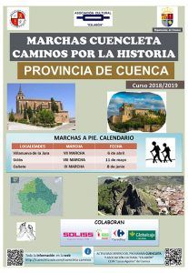 Diputación de Cuenca y Asociación Cultural Eslabón mantienen su apuesta  por la combinación de salud, deporte y patrimonio