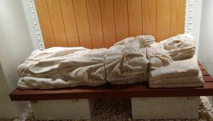El  detalle monumental de marzo en Guadalajara, dedicado a los sepulcros y esculturas funerarias renacentistas