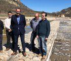 El director general de Coordinación y Planificación visita las Salinas de San Juan, en Saelices de la Sal