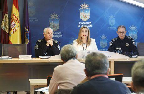 El número de accidentes de tráfico se redujo en Guadalajara un 11% en 2018 con respecto a 2017