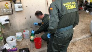 Intervenido por primera vez el explosivo conocido como Madre de Satán utilizado para robar cajeros automáticos en Cuenca