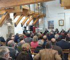 José Manuel Latre asiste a la conferencia sobre literatura y arte en el Centro CeLA de Almonacid de Zorita