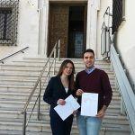 La confluencia de Unidas Podemos estará encabezada en Cuenca por los jóvenes Fernando Garrote Massó al Congreso y Beatriz Martínez Valencoso al Senado