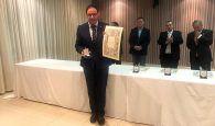 La Diputación de Cuenca recibe la Medalla de Plata de la Asociación Española de Amigos de los Castillos