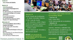 La Escuela de Agrónomos del Campus de Ciudad Real acogerá el encuentro nacional de estudiantes de Ingenierías Agroforestales