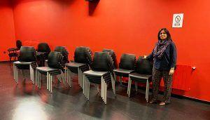 La Escuela Municipal de Música y Artes Escénicas de Cuenca dispone de nuevo material destinado al salón de actos