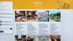 La Junta Electoral Provincial obliga a la Diputación de Cuenca a retirar información propagandística de su página web