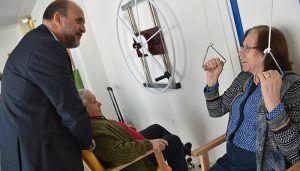 La nueva residencia de mayores de Priego superará la próxima semana el 80 por ciento de ocupación
