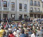La Plaza Mayor de Guadalajara, escenario de las actividades del Día Mundial de la Poesía
