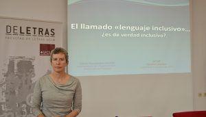 La responsable de Consultas Lingüísticas de la RAE defiende en la UCLM el uso del masculino genérico como mecanismo inclusivo