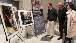 La sala de arte Antonio Buero Vallejo, de la Delegación de la Junta en Guadalajara, acoge la exposición fotográfica 'La humanidad en la guerra'